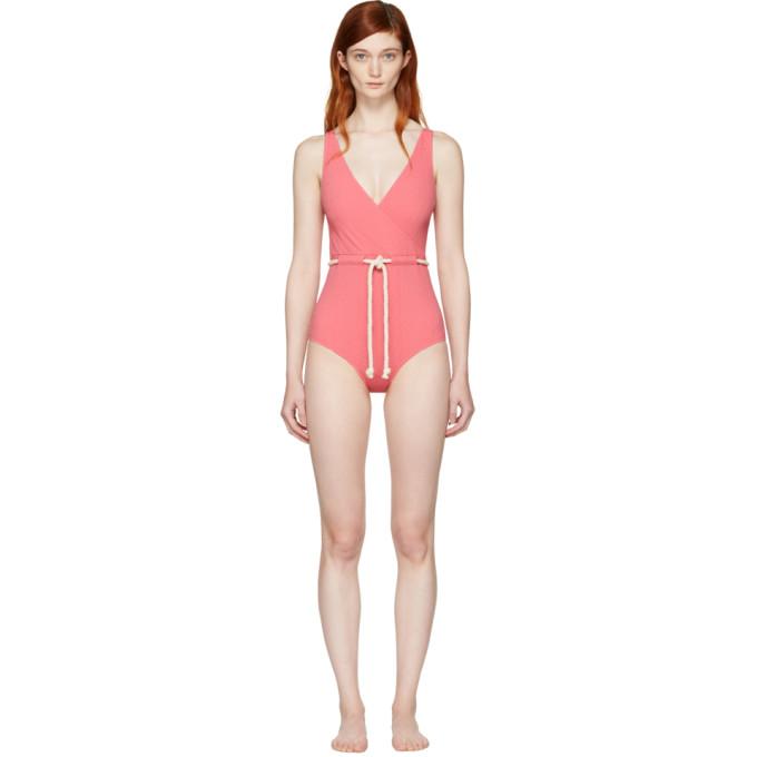 lisa marie fernandez female lisa marie fernandez pink yasmin swimsuit