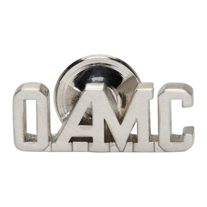 Image of OAMC Silver Logo Pin