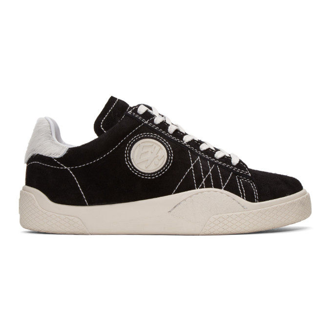 Image of Eytys Black Wave Rough Sneakers