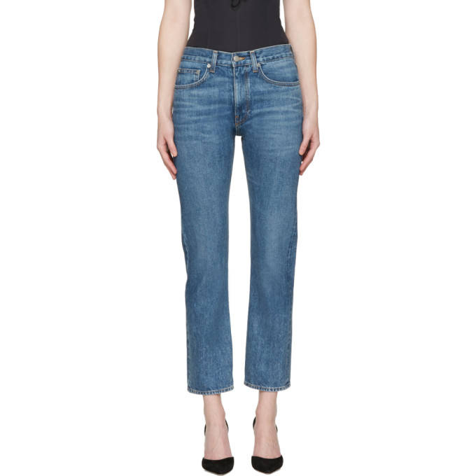 Brock Collection Indigo Wright Jeans