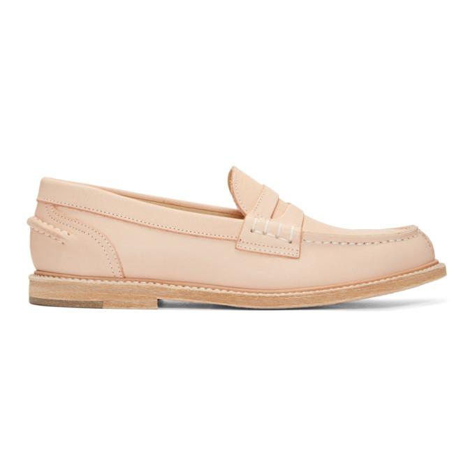 Image of Hender Scheme Beige Slouchy Loafers