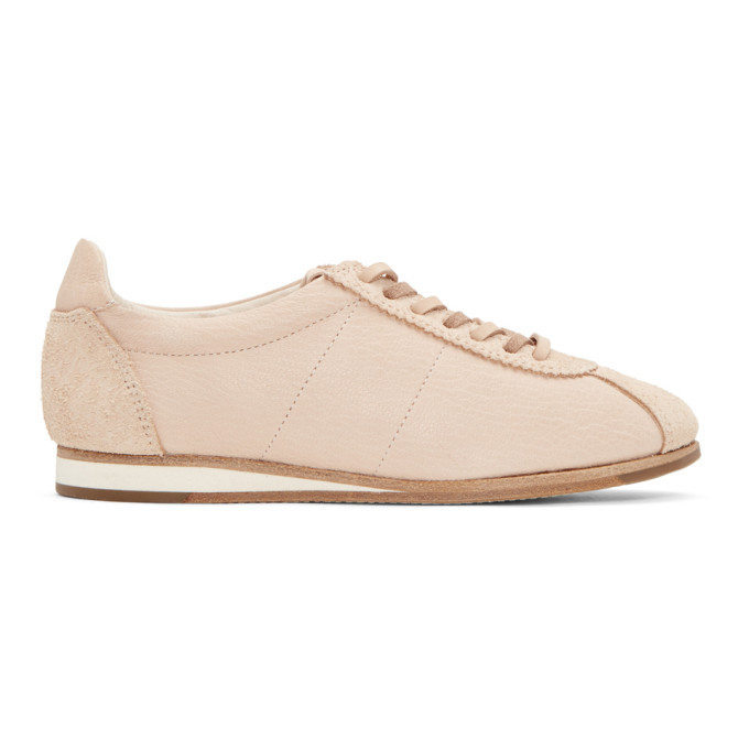 Image of Hender Scheme Beige Manual Industrial Products 10 Sneakers