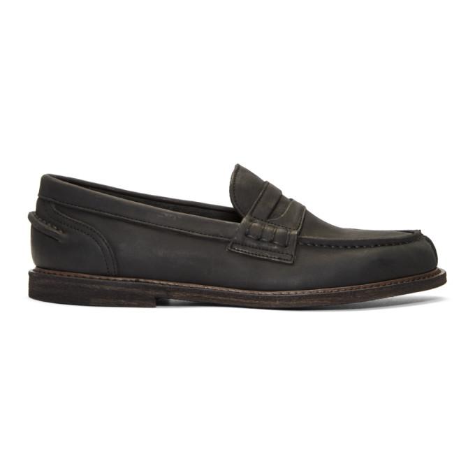 Hender Scheme Black Slouchy Loafers