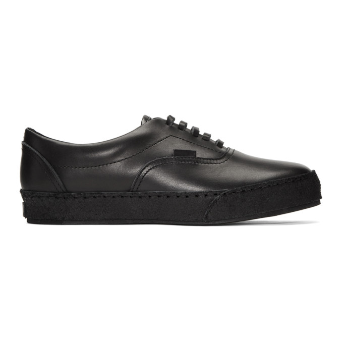Image of Hender Scheme Black Manual Industrial Products 04 Sneakers