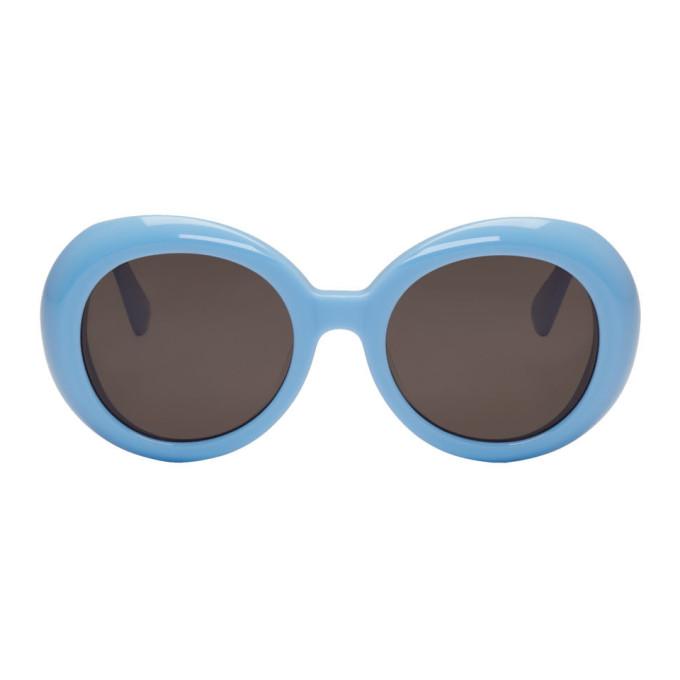 Image of Gentle Monster Blue 'Red Pocket' Sunglasses
