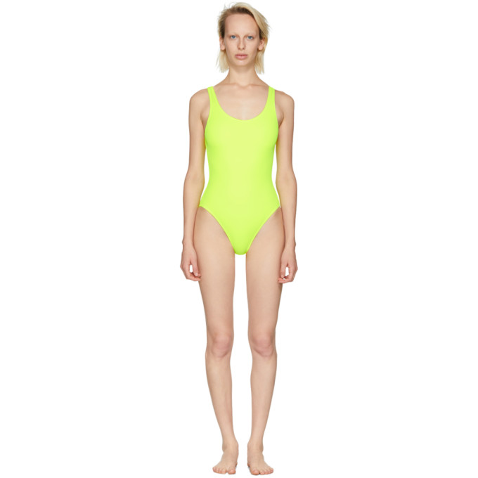 Solid & Striped Yellow The Anne-Marie Swimsuit