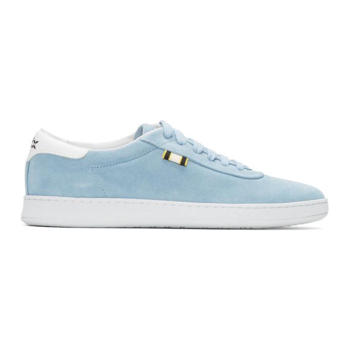 APRIX Aprix Blue Suede Apr-002 Sneakers in Powder Blue