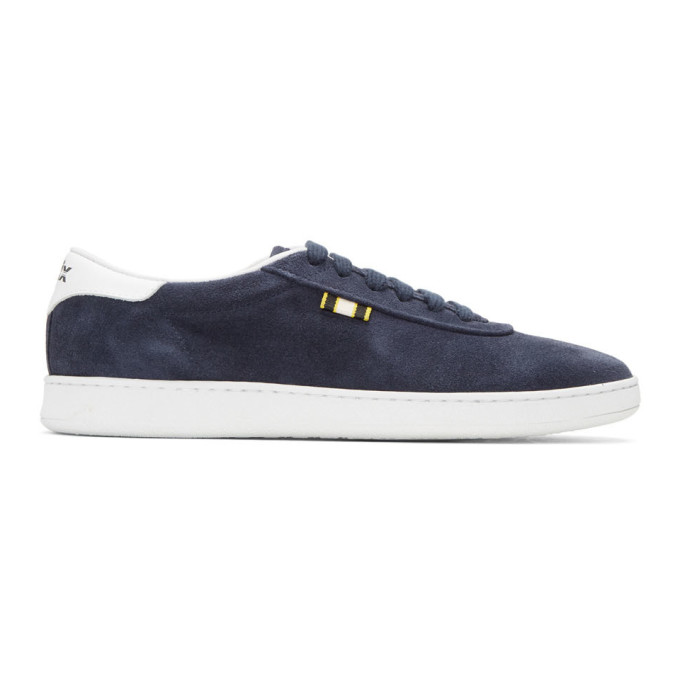 APRIX Aprix Navy Suede Apr-002 Sneakers
