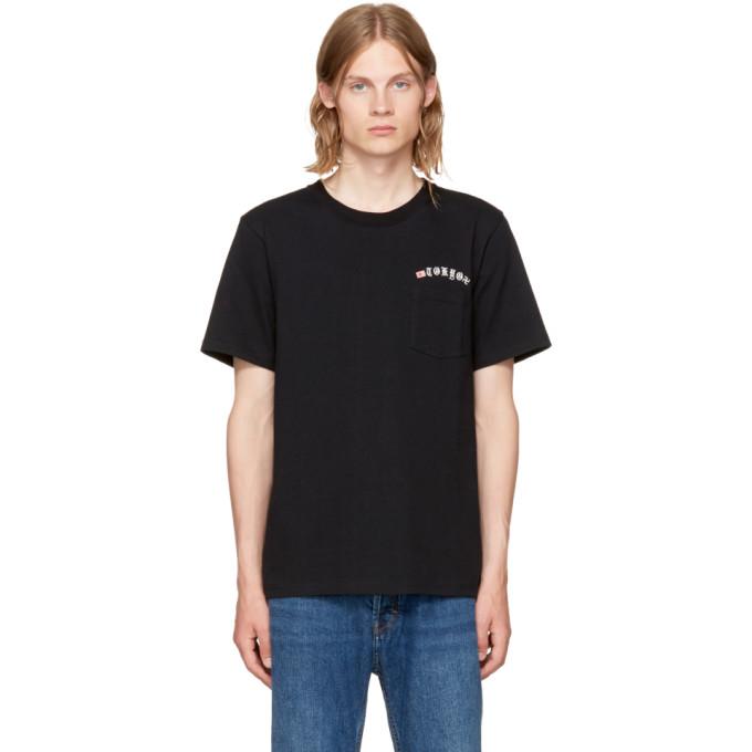 2b4492cd6 Wacko Maria Black Tokyo Oversized T Shirt