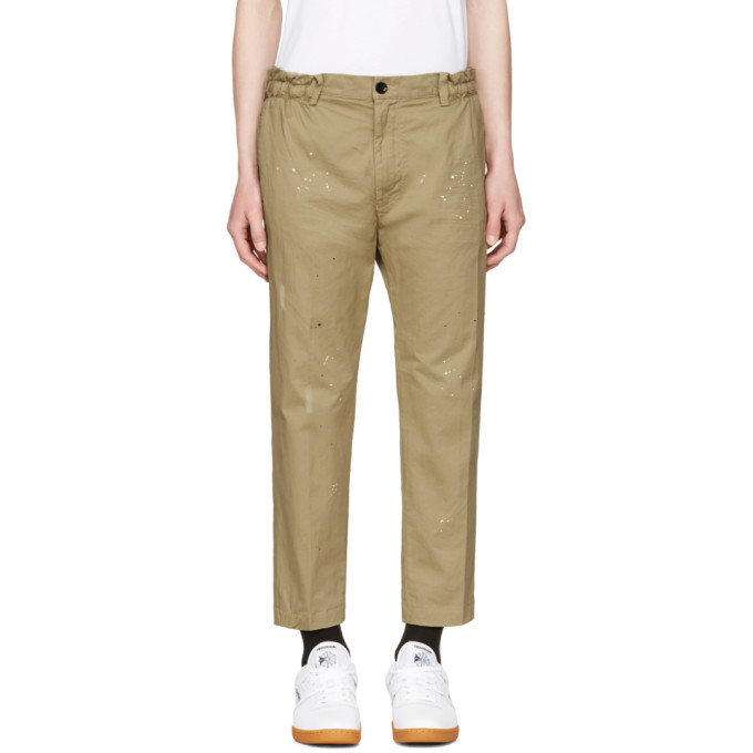 Image of Diesel Beige P-Mad Trousers