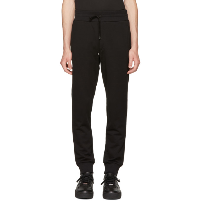 Image of Dolce & Gabbana Black Bee Lounge Pants