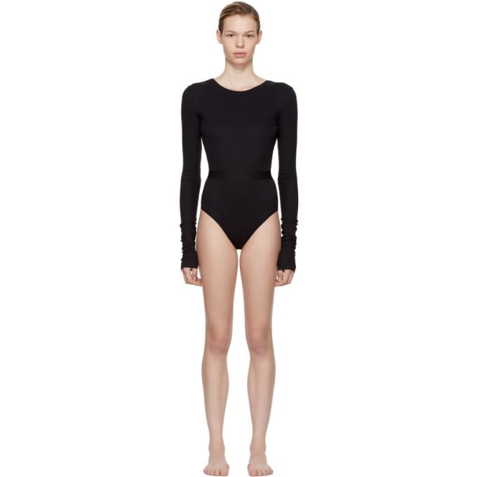 Image of la fille d'O Black Mission Bodysuit