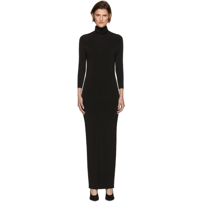 Image of Kwaidan Editions Black Underpinnings Turtleneck Dress