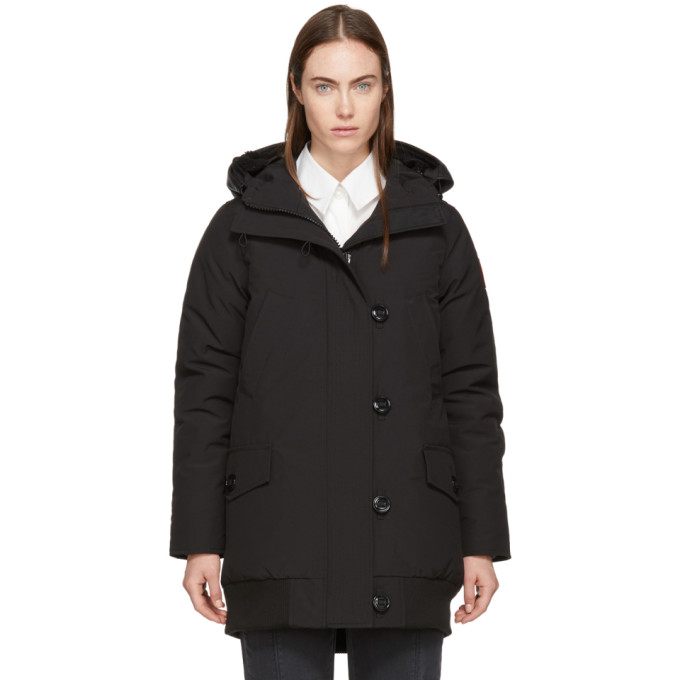 Image of Canada Goose Black Down Finnegan Parka