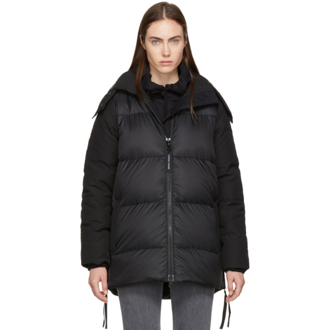 Image of Canada Goose Black Down Whitehorse Parka