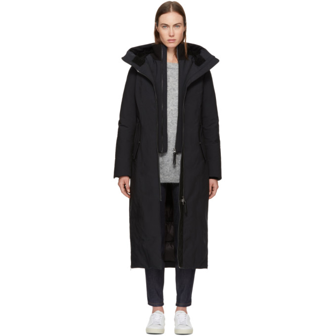 Image of Mackage Black Down Rebeka Jacket