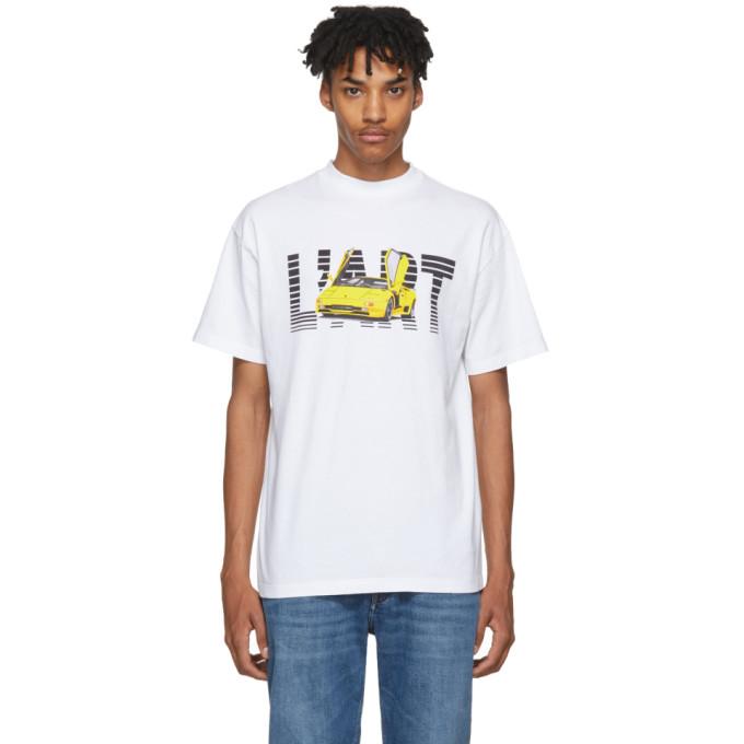 Image of KAR / L'Art de L'Automobile White New L'Art T-Shirt