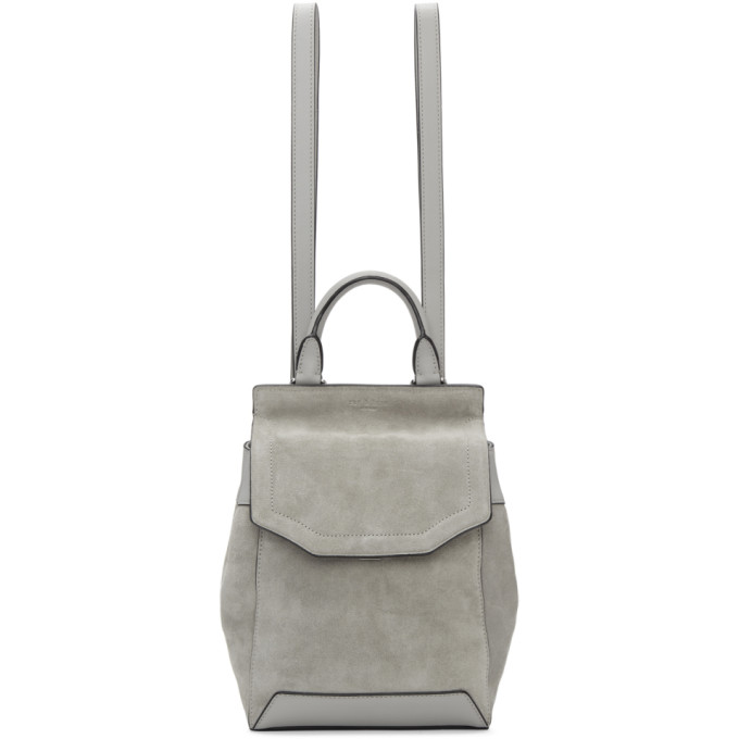 Rag & Bone Grey Small Pilot II Backpack