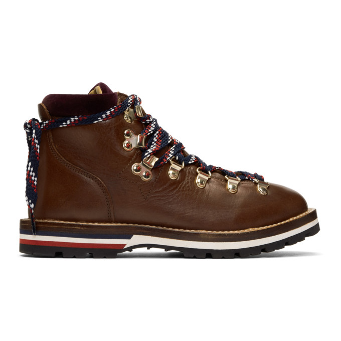 Buy Moncler Brown Blanche Hiking Boots online