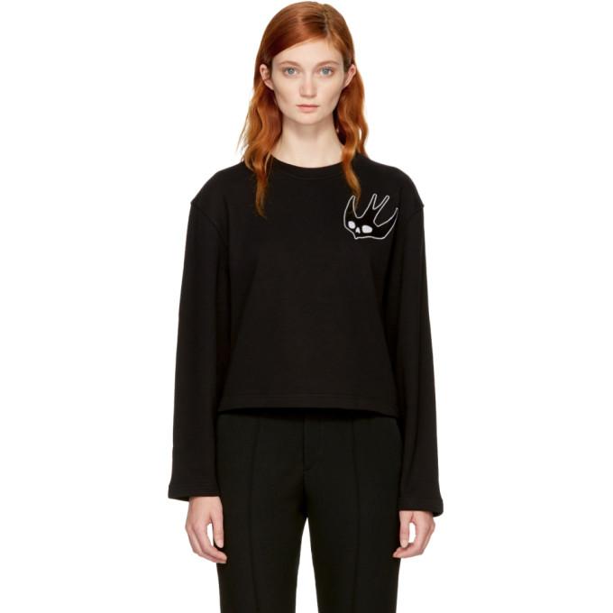 McQ Alexander McQueen Black Swallow Skater Sweatshirt