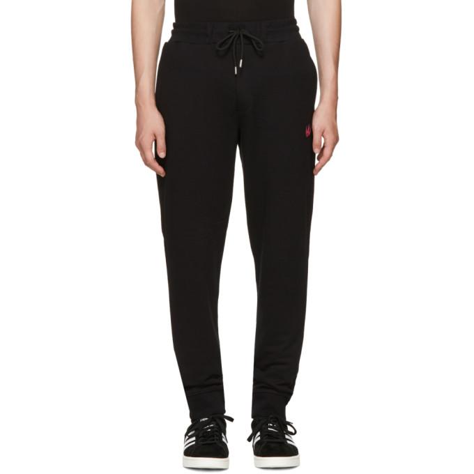 McQ Alexander McQueen Black Swallow Badge Lounge Pants