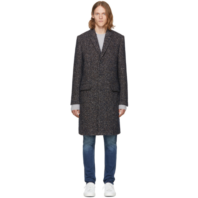 Image of Tiger of Sweden Navy Dempsey 13 Coat