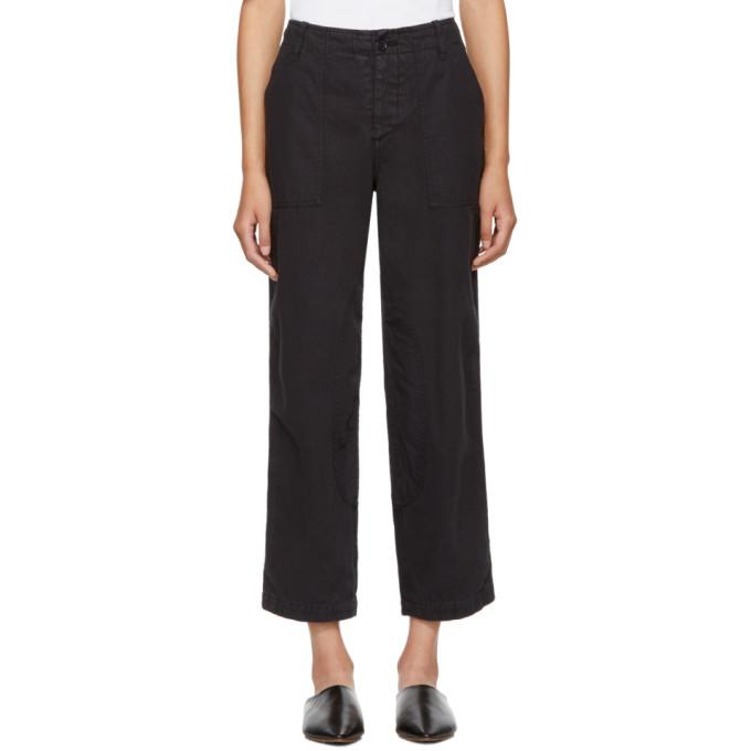 Image of YMC Black Nam Trousers
