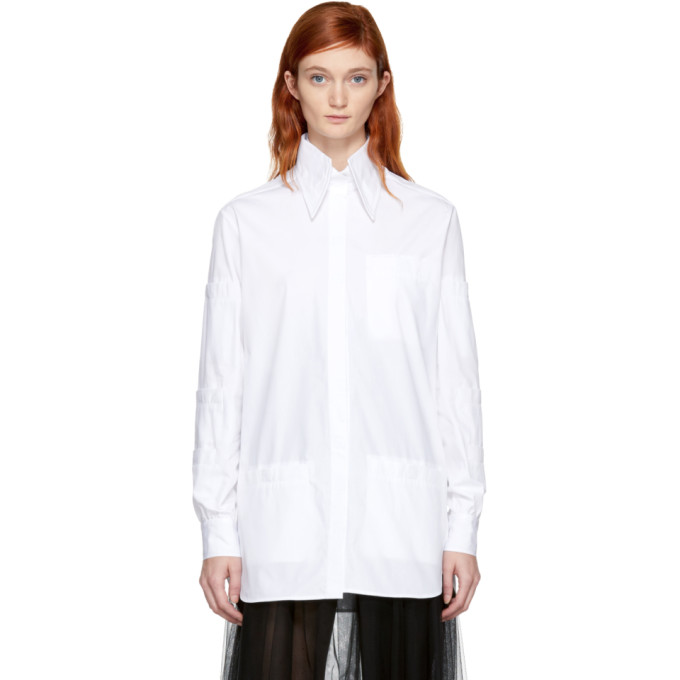 Christopher Kane Chemise blanche Stacked Pocket