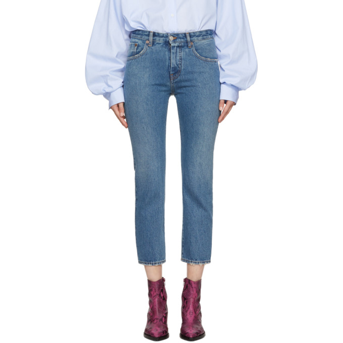 MM6 Maison Martin Margiela Blue Vintage Slim Jeans