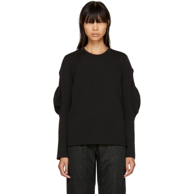 Comme des Garçons Black Flutter Sleeve T-Shirt