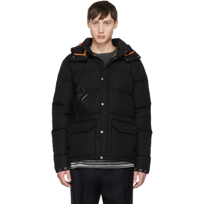 JUNYA WATANABE BLACK THE NORTH FACE EDITION PUFFER JACKET