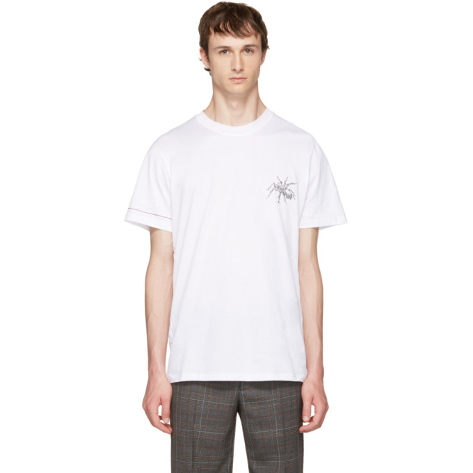 Lanvin White Spider T-Shirt