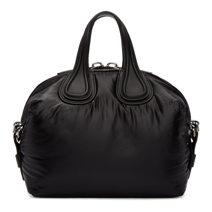 Givenchy Black Small Nylon Nightingale Bag