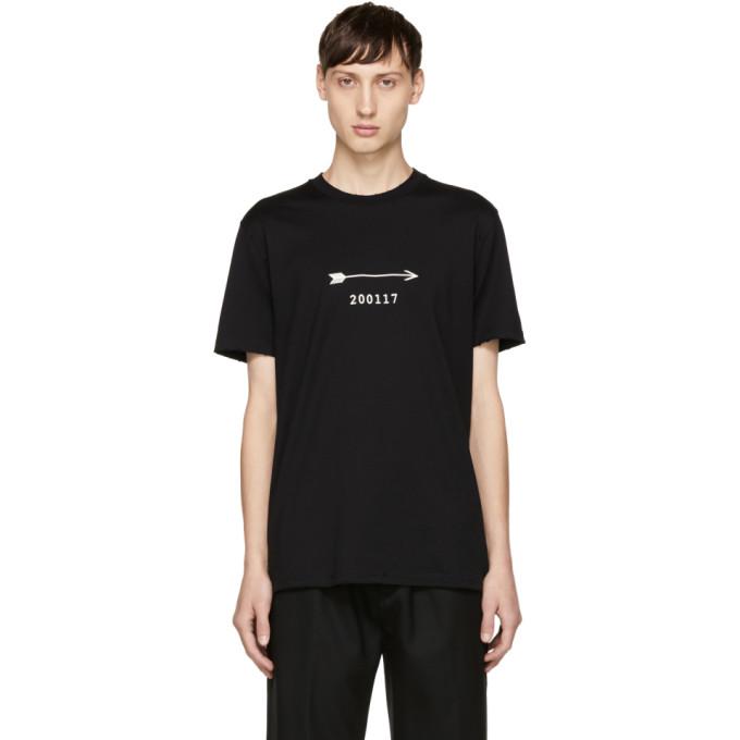 Givenchy Black Arrow & Show Date T-Shirt