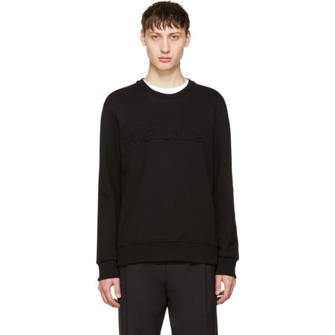 Neil Barrett Black #neilbarrett Sweatshirt