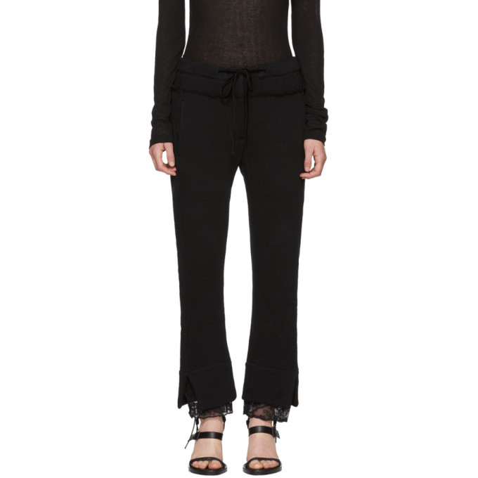 Ann Demeulemeester Black Dominic Lounge Pants