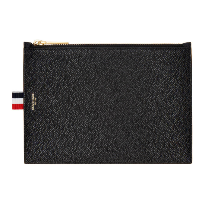 Thom Browne Black Large Coin Purse