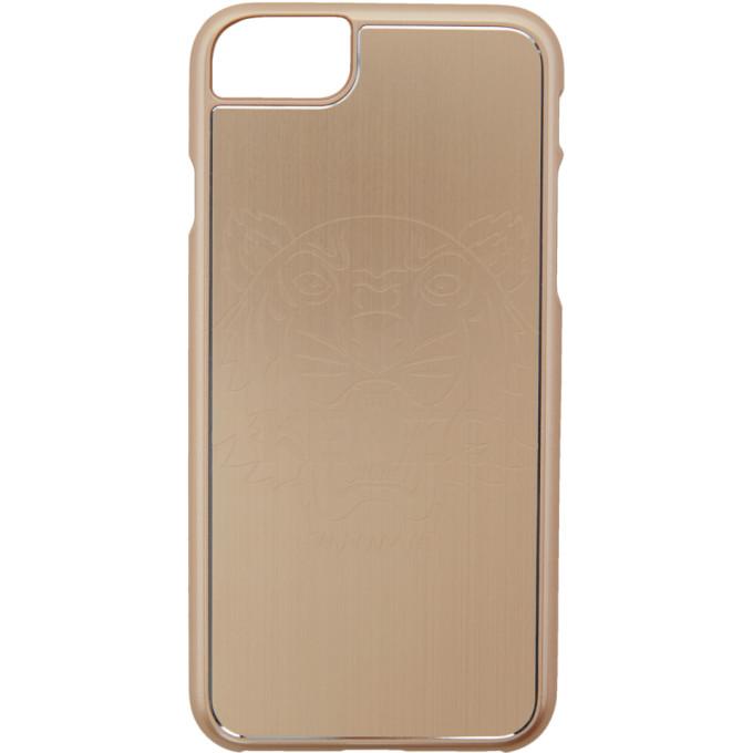 Kenzo ゴールド タイガー iPhone 7 ケース