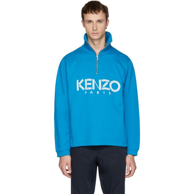 Kenzo Blue Logo Sweater