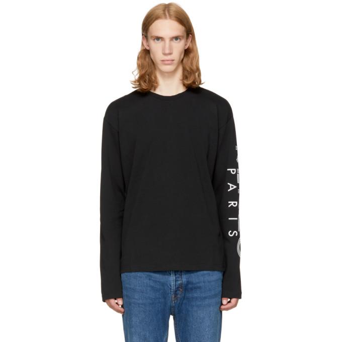 8147d55ea00 Kenzo Black Long Sleeve Logo T Shirt
