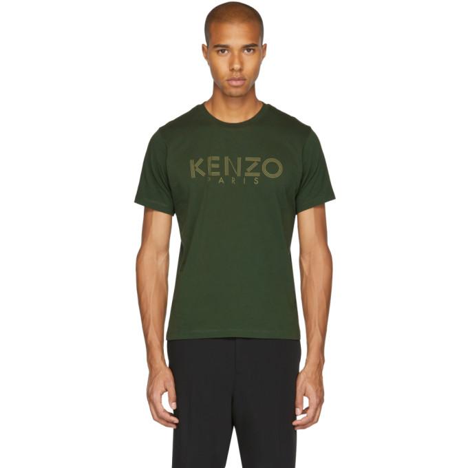 Kenzo Green Logo T-Shirt