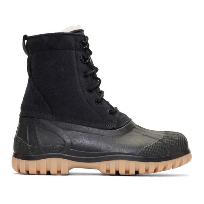 Image of Diemme Black Suede Antara Boots