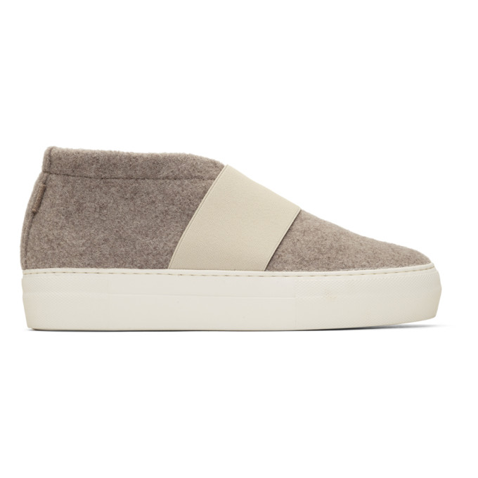 Image of Diemme Beige Cassola Mid Sneakers