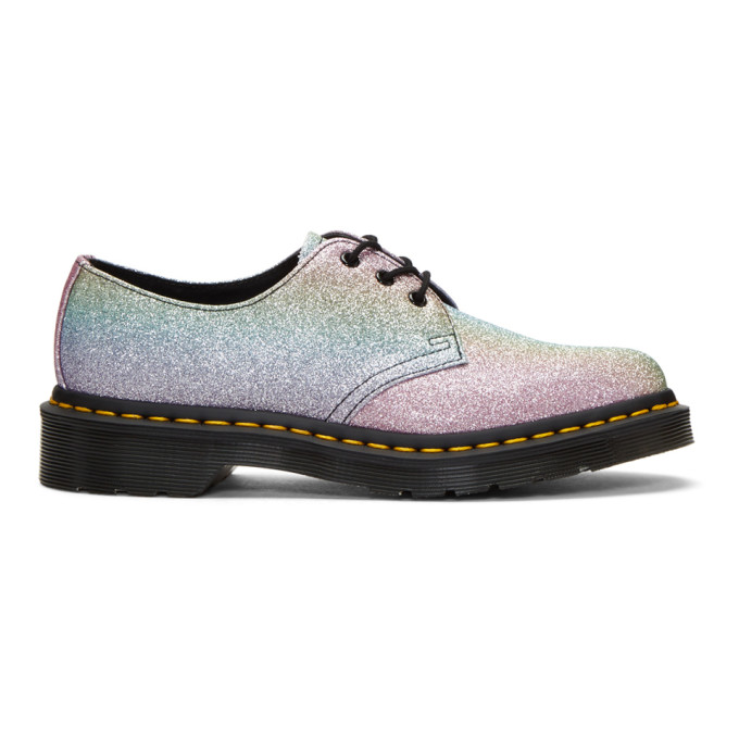 DR. MARTENS | Dr. Martens Multicolor 1461 Glitter Derbys | Goxip