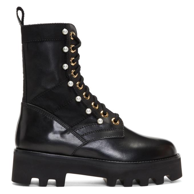Image of Altuzarra Black Cosmo Jungle Boots