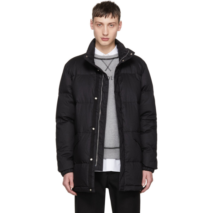 Image of PS by Paul Smith Black Down Puffer Coat