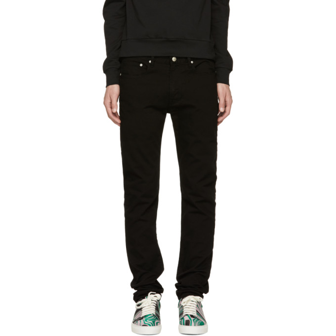Ps By Paul Smith Black Skinny Jeans