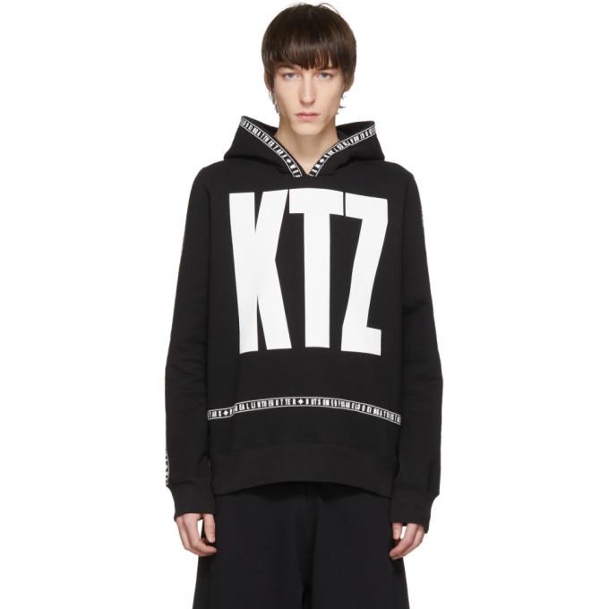 Image of KTZ Black Letter Logo Hoodie