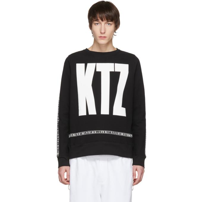 Image of KTZ Black Letter Logo Sweatshirt