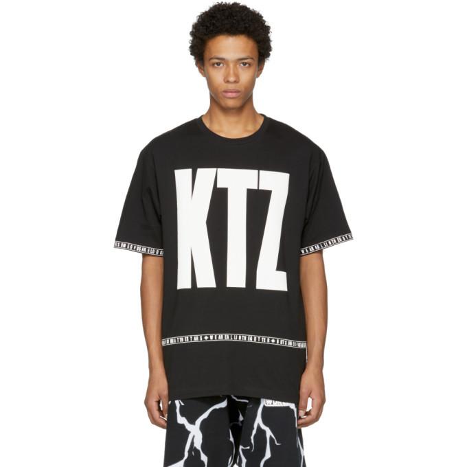 KTZ BLACK LETTER T-SHIRT